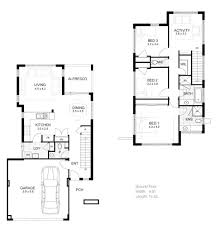 simple 2 storey house design home floor plans with elevation