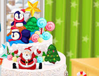 christmas cake decoration cooking games
