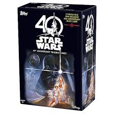 wars cards 2017 wars 40th anniversary trading cards box target