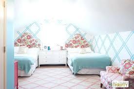 magenta bedroom turquoise and pink bedroom girls tween bedroom makeover gold