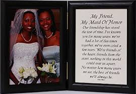 matron of honor poem 5x7 hinged my friend my of honor poem black
