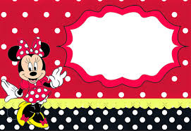 Free Printable Minnie Mouse Invitation Template by Free Printable Minnie Mouse Invitation Templates Part 2