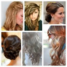 some easy hairstyle for party holiday hairstyles for long hair