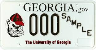 dade county georgia vehicle tags