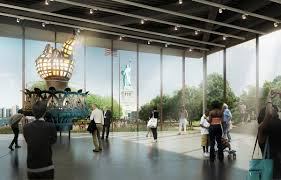architect plans to inspire with new liberty island museum the original torch is the centrepiece of the museum restored in 1986 after sitting atop the statue for almost a century fxfowle