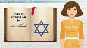 conflict in anne frank u0027s diary of a young video u0026 lesson