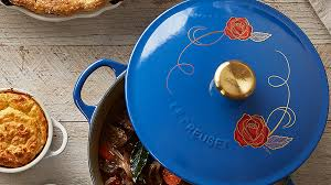 le creuset beauty and the beast williams sonoma beauty and the beast le creuset pot