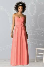 bridesmaid dresses coral chic collection of coral bridesmaid dresses elite