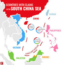 Spratly Islands Map The Philippines Is Forcing China To Limit Its Aggressive Maritime