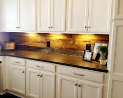 kitchen ideas reclaimed wood tile backsplash white tile