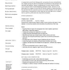 resume exles for restaurant restaurant manager resume sle restaurant manager resume sle