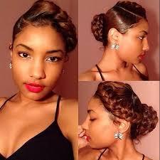 detroit black hair braid style stylist feature this braided bun on porscheee done by detroit
