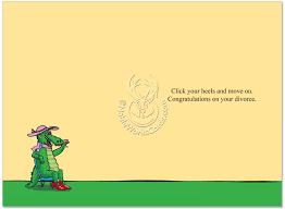 congratulations on your divorce card alligator s husband divorce greeting card nobleworks
