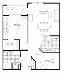 Home Design 650 Sq Ft Small One Bedroom Apartment Floor Plans House View Indian For Sq