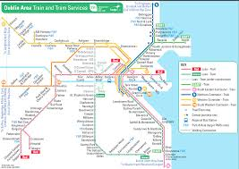 Dart Rail Map So The New Luas Is Opening Today So Here U0027s A Link To What A