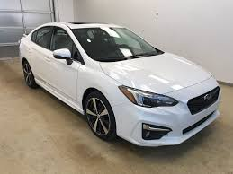 subaru cars white new 2018 subaru impreza 4 door car in lethbridge ab 186397