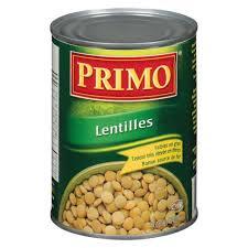 comment cuisiner des lentilles en boite primo lentilles en conserve 540 ml marché nuvo
