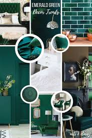 emerald green interior decor trends inspiration arts and classy