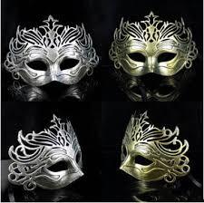 masquerade masks men hot men retro crown design masquerade masks gold silver