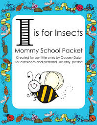 i is for insects mommy oopsey daisy