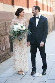 Wedding Dress Man Bride Wears Late Grandma U0027s Dress To Her Wedding And It Fits To