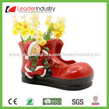 Garden Decorations For Christmas by China 2017 Garden Decorative Resin Skating Boot Planter Ornaments