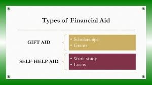 self help finance finance your future types of financial aid gift aid scholarships