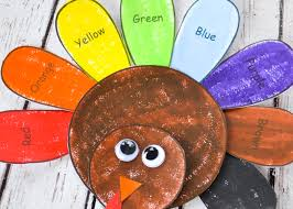 thanksgiving turkey craft for and free template