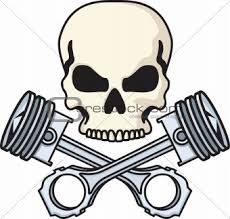 image 4193221 skull and pistons from crestock stock photos