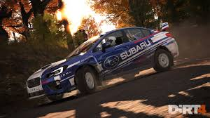 subaru rally racing hype codemasters announces the fourth u201cdirt u201d rally racing game