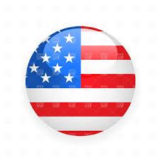 Korea Flag Icon Usa Button Flag Royalty Free Vector Clip Art Image 1482 U2013 Rfclipart