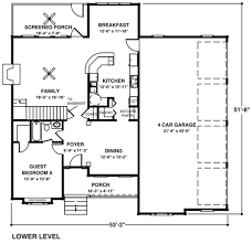 house plans 4 garage house plans larry garnett hillside home