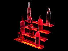Liquor Display Shelves by 4 Tier Led Bar Shelf Display Shelf Display Liquor And Display