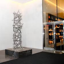 elevating the environment with modern abstract sculpture terra