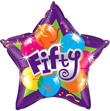 50th birthday flowers and balloons 50th birthday balloon absolute flowers florist youghal