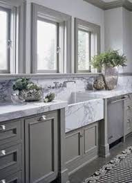 kitchen cabinets painted gray before after a closed off kitchen gets an expansive upgrade