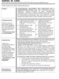 Sample Resume For Sales Position Sample Resume For Pharmaceutical Sales Manager