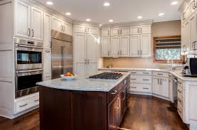 rustic archives jm kitchen and bath off white cabinets with marble countertops