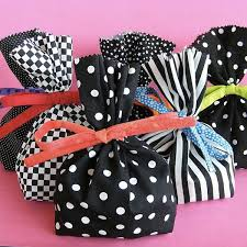 wrapping gifts with fabric an array of patterns ideas