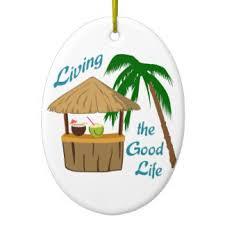 tiki hut ornaments keepsake ornaments zazzle