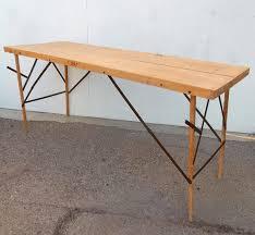 1930s industrial wallpaper hangers folding table or desk for sale
