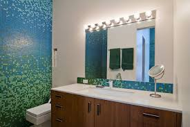 mosaic ideas for bathrooms blue and green mosaic tile houzz