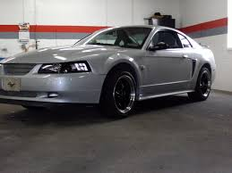 Silver Mustang Black Wheels Silverstang15 2004 Ford Mustang Specs Photos Modification Info