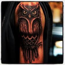 43 best owl half sleeve tattoos for women images on pinterest