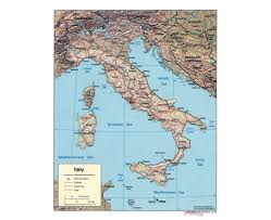 Italy Political Map by Maps Of Italy Detailed Map Of Italy In English Tourist Map