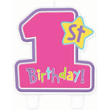1st birthday hugs and stitches girl s 1st birthday candle toys