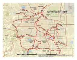 Delorme Maps Denver Bike Map Bike Map Denver Colorado Usa