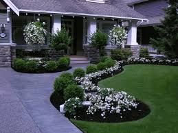 Front Lawn Garden Ideas Front Yard Front Yard Makeover Transformation South Surrey Bc