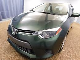 used toyota 2015 used toyota corolla 4dr sedan cvt le eco at north coast auto