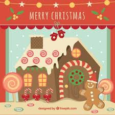 gingerbread house christmas card template best christmas